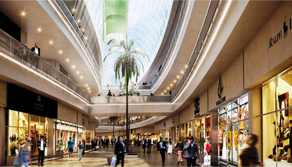 MALLS - COMMERCIAL INTERIORS